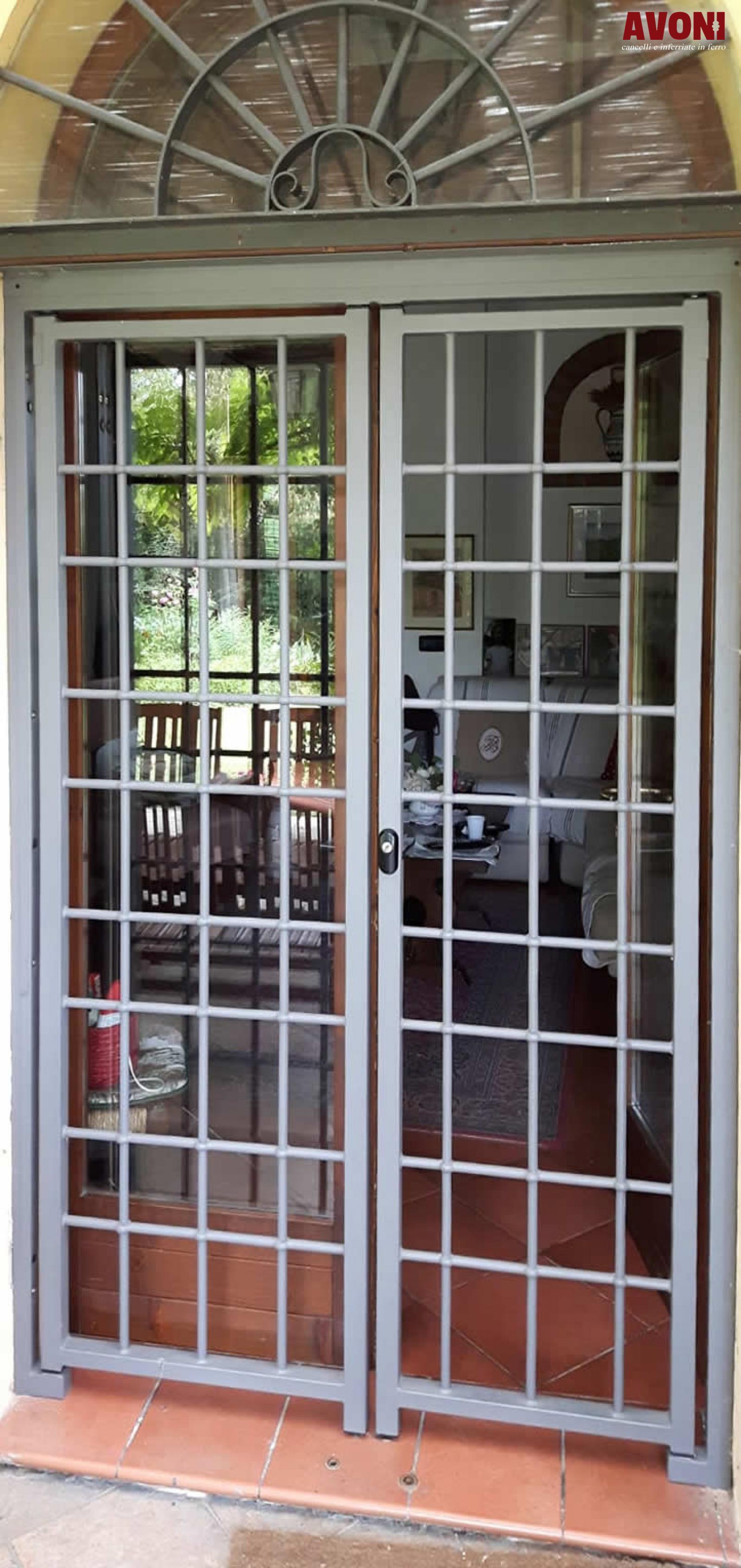 Cancelli da esterno per porte finestre avoni snc - Cancelli per porte finestre ...